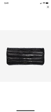 Load image into Gallery viewer, Anine Bing Natasha Clutch Black Croco