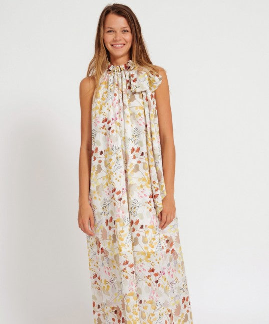 Morrison Andreas Maxi Dress Willow Print