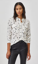 Load image into Gallery viewer, Equipment Slim Signature Silk shirt In Bright White Star
