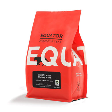NEW! AMIGOS Marin Holiday Blend by Equator Coffees, 12oz