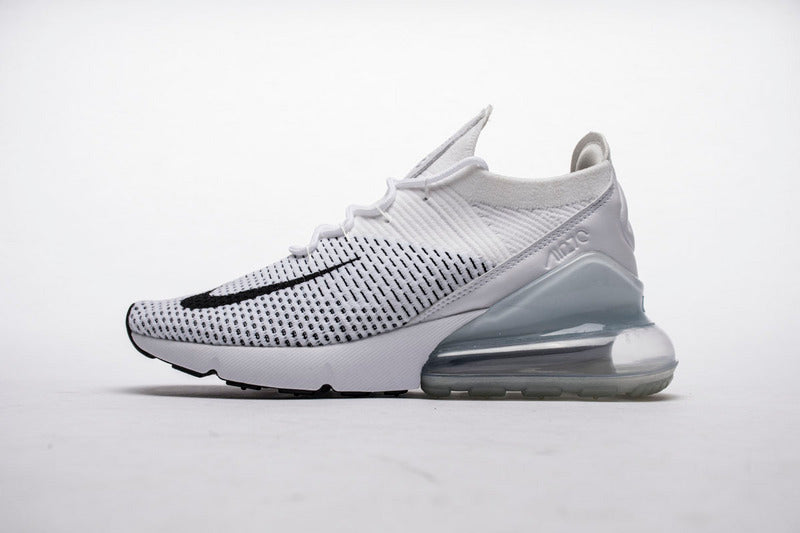 low priced 8d8ed 3a006 Nike Air Max 270 Flyknit Blanc Pour Hommes – Dream Sneaker