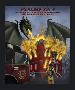 Blanket, Sherpa, Firefighter Psalms