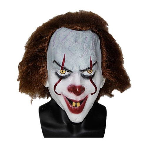 Pennywise Clown Mask 2017 New Movie IT Masks Classic Scary