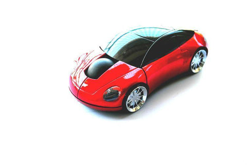 Wireless Optical Mouse Car Shape