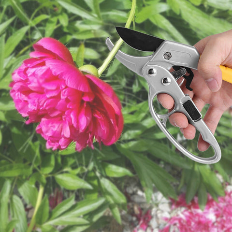 Carbon Steel Plant Pruning Scissors Garden Cutter Flower Shears Hand Pruner Tool