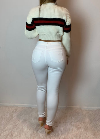Scarlett Crop Sweater