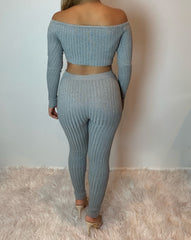 Miraya Knit Set (grey)