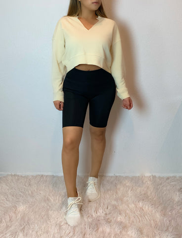 Kim K Sweater (pale yellow)
