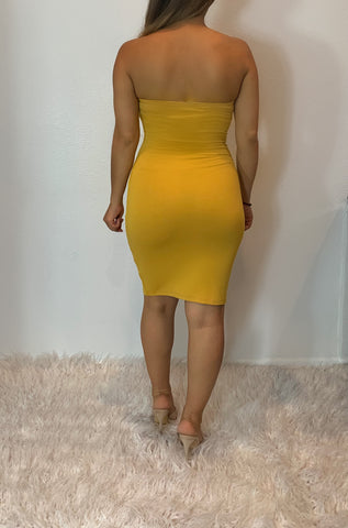 Stella Dress (yellow)