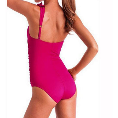 Sports & Outdoors / Swimming / One-Piece Suits - KALINA - SHOULDER ONE PIECE