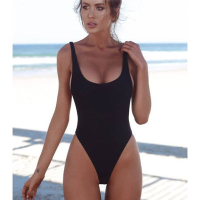 Sports & Outdoors / Swimming / One-Piece Suits - PEMA - HIGH WAIST ONE PIECE