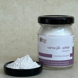 white face pack - varnajal series - 30 gms