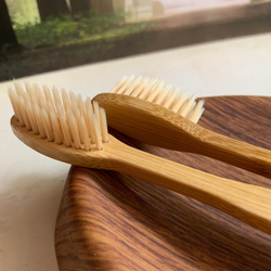 bamboo brush - set of 2