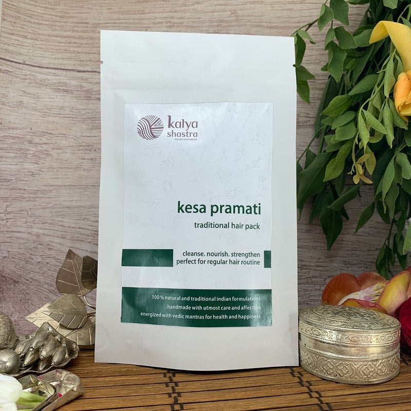 kesa pramati - traditional hair pack