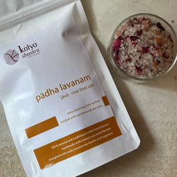 paadha lavanam - javaa - rose foot soak  salt - 100 gms