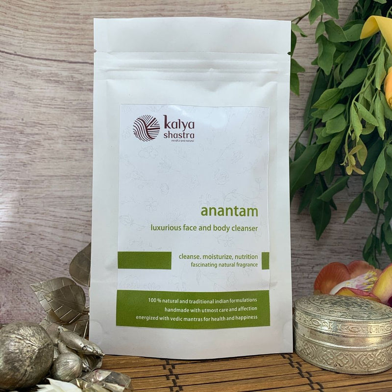 anantam - everyday face & body cleanser