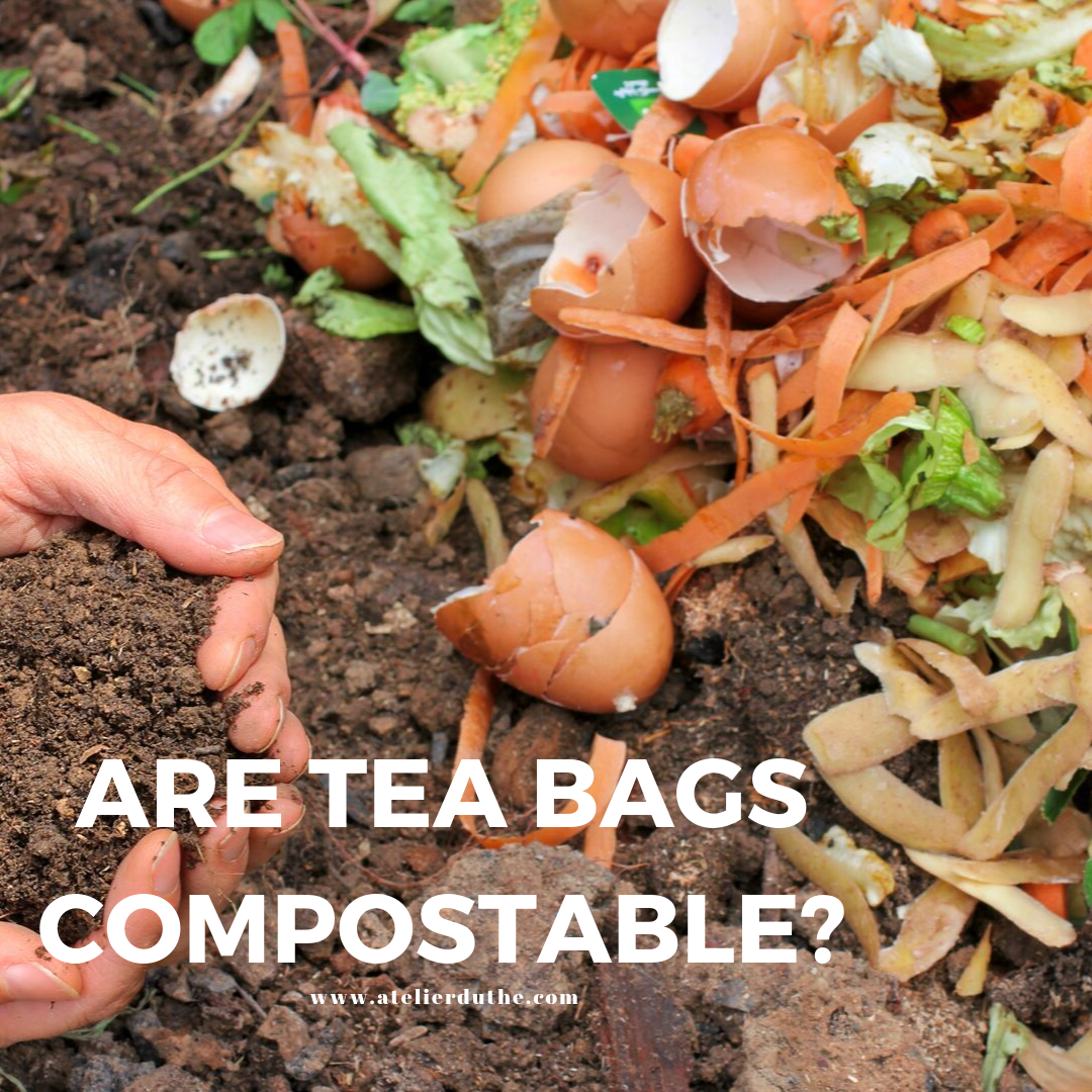ARE TEA BAGS COMPOSTABLE??