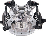 FLY RACING  CONVERTIBLE II MINI ROOST CLEAR/SILVER