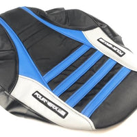 DRR/APEX SEAT COVER - BLACK / TM BLUE