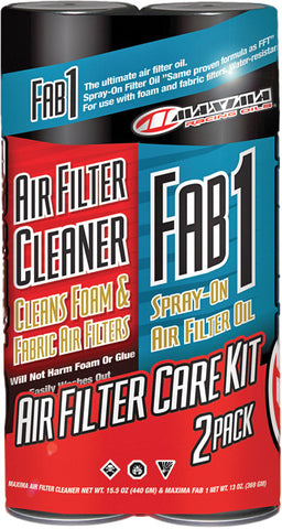 Maxima Air Filter Care Kit 2-Pk