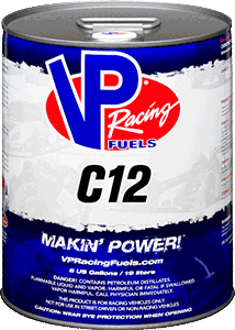 C12 VP Race Fuel - 5 Gallons - G-FORCE POWERSPORTS
