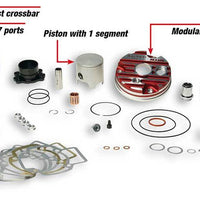 Malossi 70cc Testa Rosa Cylinder Kit (NEW) - G-FORCE POWERSPORTS