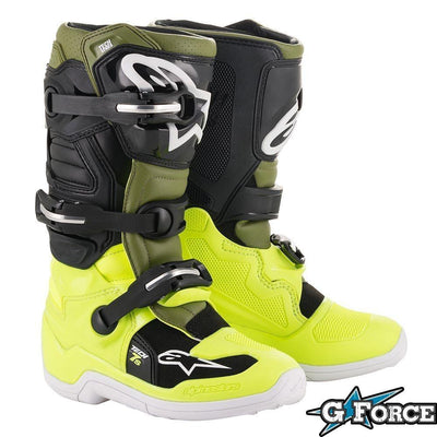 TECH 7S YOUTH BOOT - Alpine Star - G-FORCE POWERSPORTS