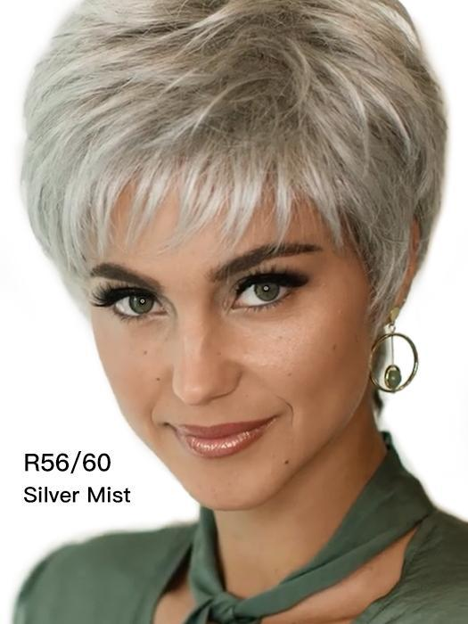FIFTH ANNIVERSARY-LACE FRONT SHORT WIG (Short Pixie)-09