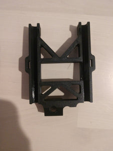 3d printed max5 esc plates for the xmaxx. Black