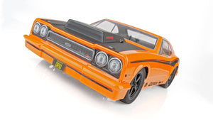 Associated DR10 Drag Race Car, 1/10 Brushless 2WD RTR, w/ LiPo Battery & Charger, Orange