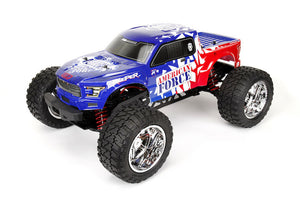 Cen Reeper American Force Edition Mega Monster Truck 1/7 RTR, Brushless w/ Hobbywing ESC and Savox Servo