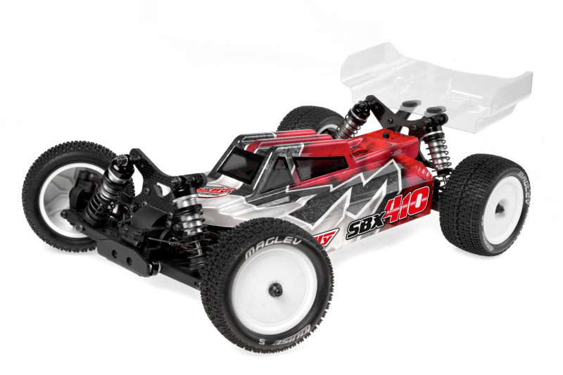 Corally 1/10 SBX-410 4WD Off Road Competition Buggy Kit (No Wheels, Tires, or Electronics)