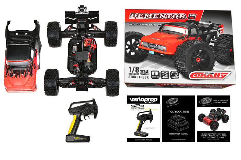 Corally 1/8 Dementor XP 6S 4WD Monster Truck Brushless RTR (No Battery or Charger)
