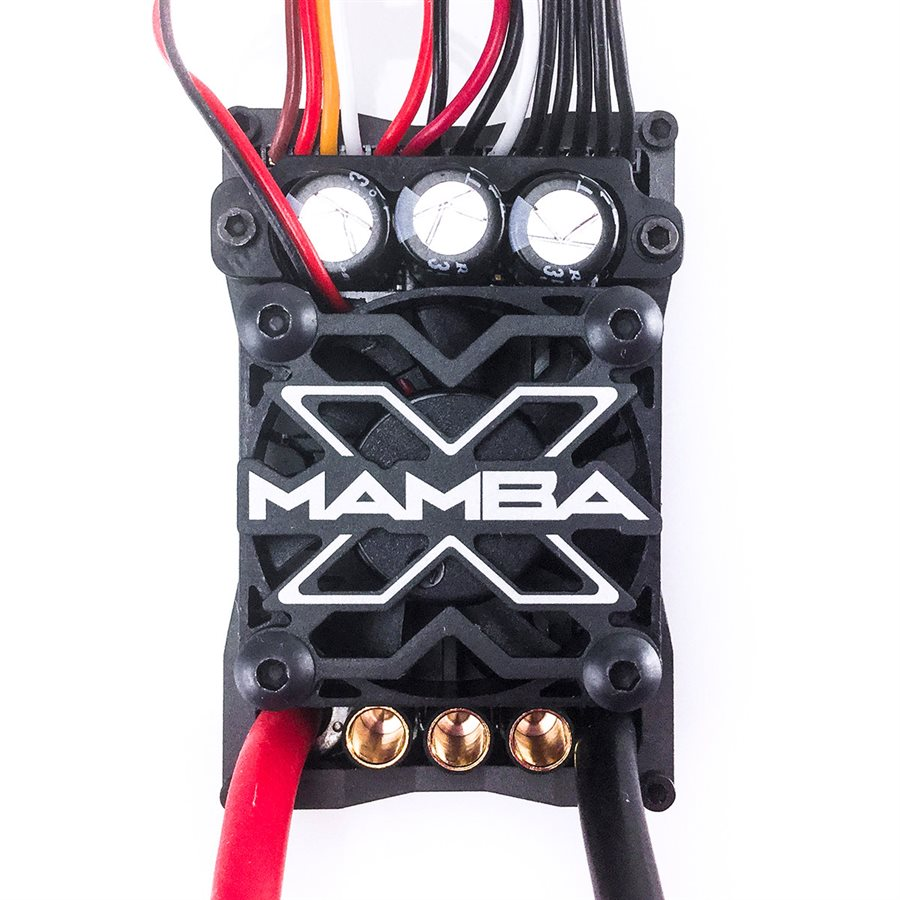 MAMBA X Sensored 25.2V Waterproof ESC w/ 8A Peak BEC, Datalogging
