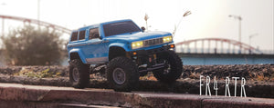 CZRFR4RTRB   FR4 1/10 Demon 4x4 RTR; No Battery or Charger - Blue