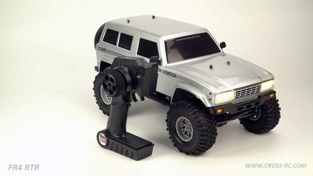 CZRFR4RTRG   FR4 1/10 Demon 4x4 RTR; No Battery or Charger - Gunmeta