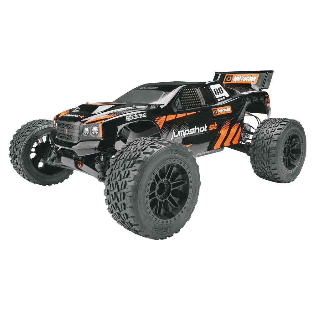 Hpi Jumpshot ST Stadium Truck RTR, 1/10 Scale, 2WD, Brushed, w/ 2.4GHz Radio