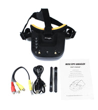 Load image into Gallery viewer, Triad FPV 3-in-1 Pocket Drone with Universal 5.8GHz FPV Goggles combo