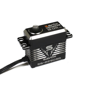 Savox SAVSB2290SG   Monster Torque Brushless Servo, Black Edition .13sec / 694.4oz @ 7.4v