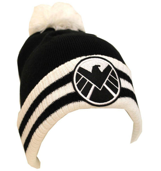 Bonnet Shield Marvel - The Shield Pompon bonnet marvel shoping