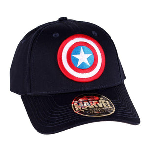 Casquette Captain America Marvel - Shield casquette marvel shoping