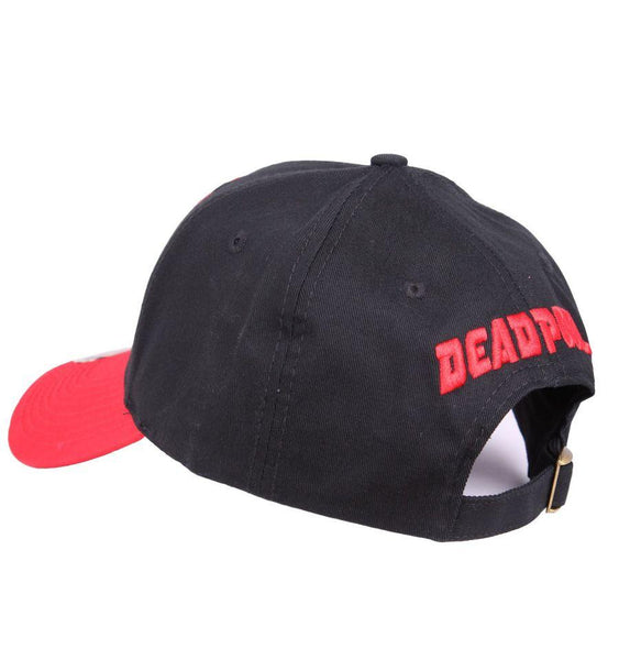 Casquette Deadpool Marvel - Baseball Logo casquette marvel shoping