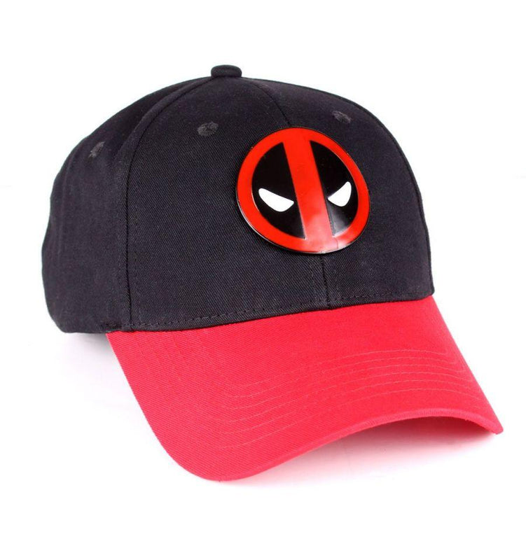 Casquette Deadpool Marvel - Metal Logo Vintage casquette marvel shoping