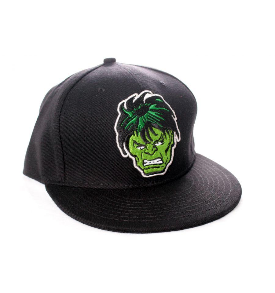 Casquette Hulk Marvel - Face Hulk casquette marvel shoping