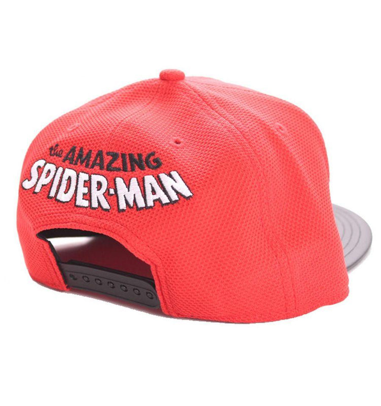 Casquette Spider-Man Marvel - Black Spider Logo casquette marvel shoping