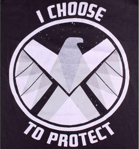 Debardeur The Shield Marvel - I Choose To Protect débardeur marvel shoping
