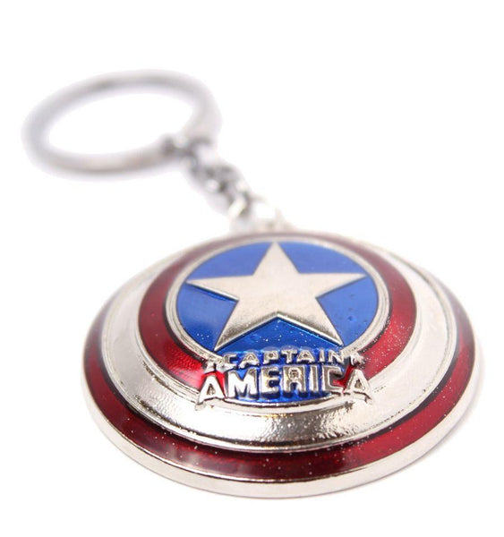 Porte Cles Captain America MARVEL - Shield porte clés marvel shoping