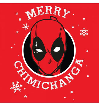 Sweat-shirt Deadpool Marvel - Deadpool Christmas sweat-shirt marvel shoping