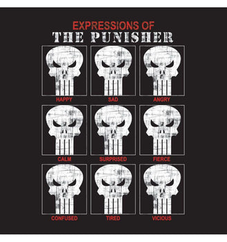 Sweat-shirt The Punisher Marvel - Punisher Expressions sweat-shirt marvel shoping