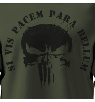 Sweat-shirt The Punisher Marvel - Si Vis Pacem Para Bellum sweat-shirt marvel shoping